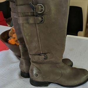Gray Born Boots